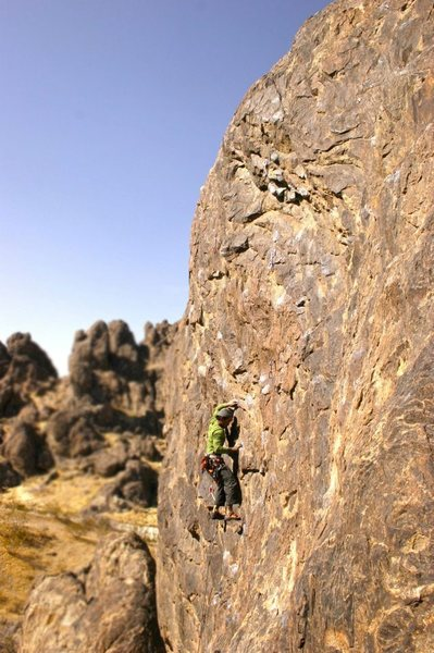 Me on Dr. Know. This route was way awkward
