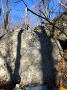 Rock Climbing Photo: Fireplace face