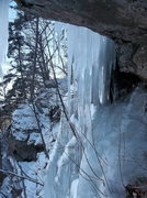 Rock Climbing Photo: Ice cave