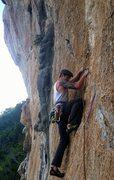 Rock Climbing Photo: Flying Hyena at La Costenera.
