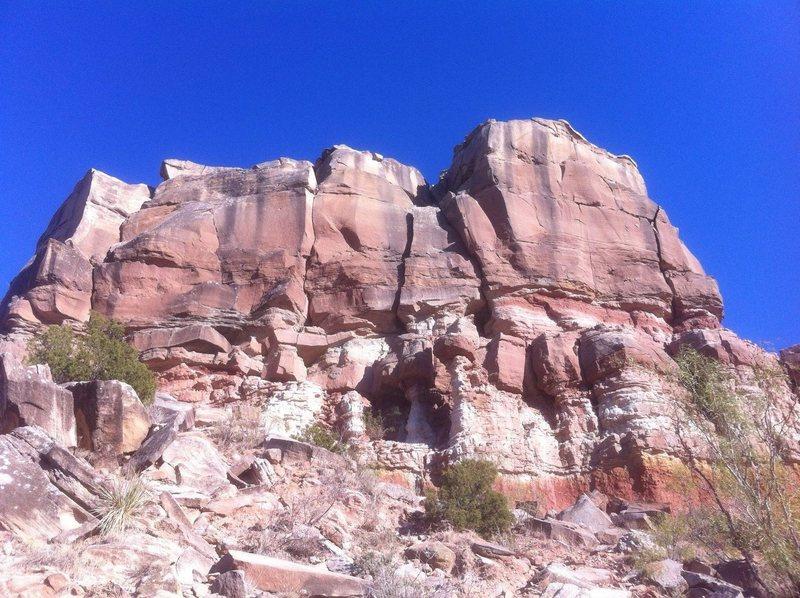 Rock Climbing Photo: Sorenson Point