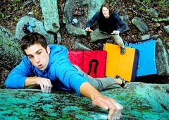 Rock Climbing Photo: primary colors and peanuts. favorite boulder probl...
