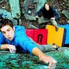 primary colors and peanuts. favorite boulder problem at bishop's for sure