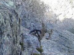 Rock Climbing Photo: Eric on the Culp.