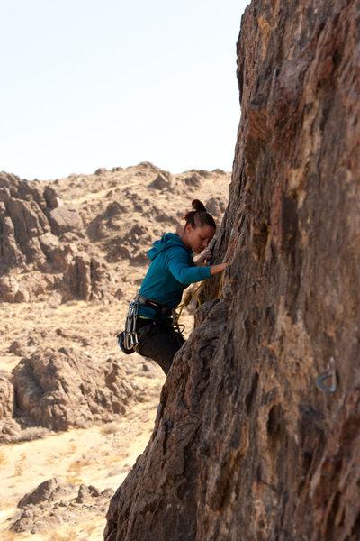 Rock Climbing Photo: Cool enough