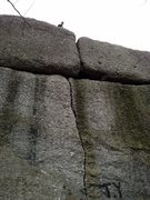 Rock Climbing Photo: Pebbles crack.