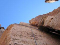 Rock Climbing Photo: Wally's Route
