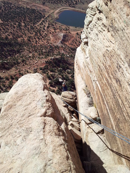Looking Down Pitch 2