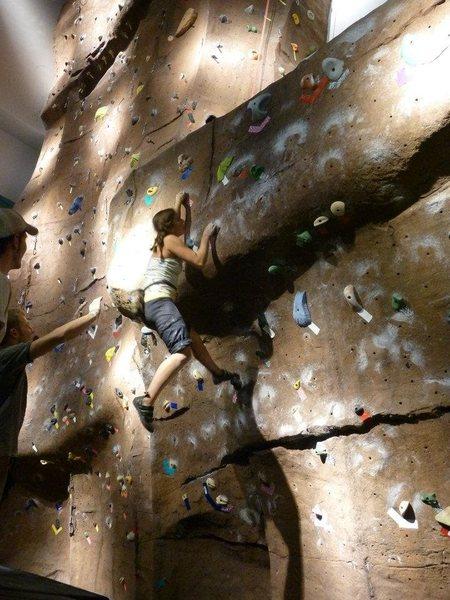 Rock Climbing Photo: Intermediate Group