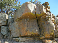 Rock Climbing Photo: Gill Arrow Roof Problem. (Photo op only; no climbi...