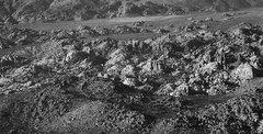 Rock Climbing Photo: An aerial view of the Wonderland of Rocks, Joshua ...