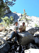 Rock Climbing Photo: Noah & I @ Suicide north wall