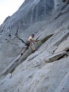 "Rock Climbing Photo: Me leading ""yours"" Suicide rock North wa..."