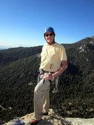Rock Climbing Photo: Top of Taquitz