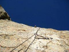 Rock Climbing Photo: Sweet third pitch