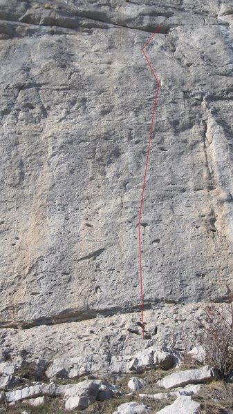 'Angel Dust'....classis ceuse face climbing...