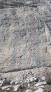 Rock Climbing Photo: 'Angel Dust'....classis ceuse face climbing...