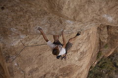 Rock Climbing Photo: Steepest route in Shelf!!!