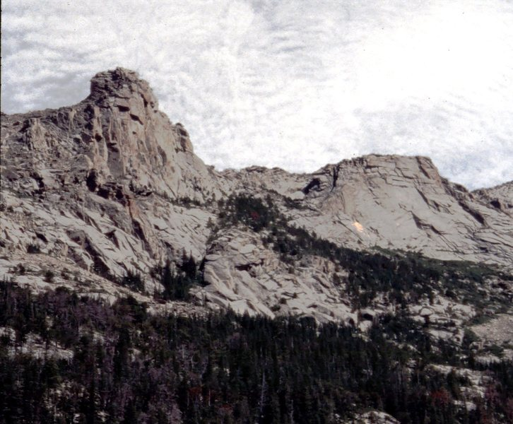 Rock Climbing Photo: Astro Tower and Half Mountain area by Scott Kimbal...