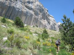 Rock Climbing Photo: Hiking to the crag