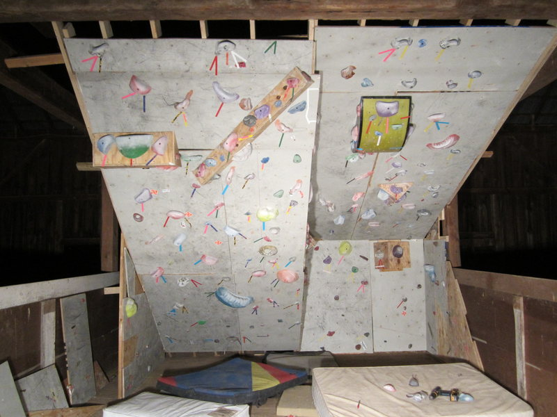 Rock Climbing Photo: New Climbing Wall