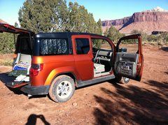 Rock Climbing Photo: Honda Element. Yes!!!