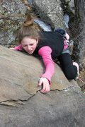 Rock Climbing Photo: chloe again