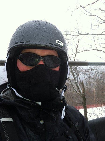 backcountry ski head shot