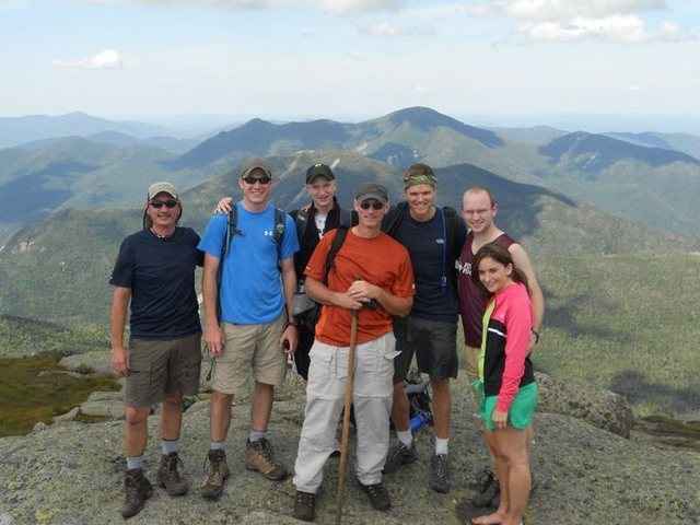 Mt Marcy: Hike with brother Tom