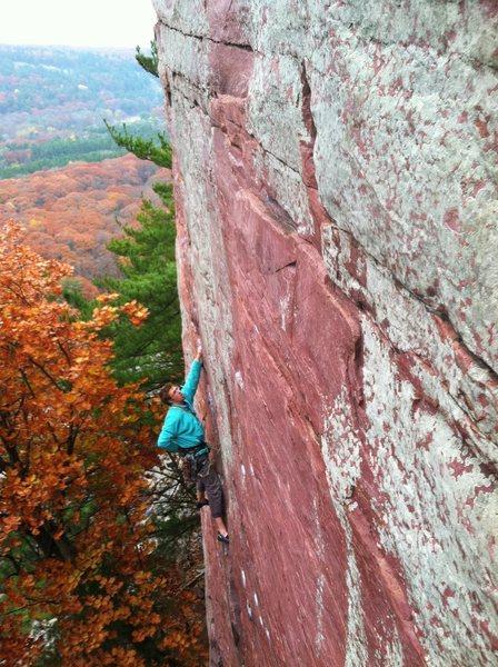 Rock Climbing Photo: Stewart Korte of the HWDAMF added to upper D pictu...