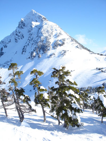 Arrowhead as seen from Verstovia in Februrary