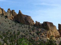 Rock Climbing Photo: The Marsupial Traverse...
