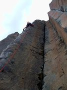 Rock Climbing Photo: A typical sport arete at Frenchman's Coulee