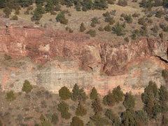 Rock Climbing Photo: The First Maroon Tower AKA Big Foot Tower