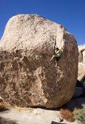 Rock Climbing Photo: So High.