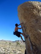 Rock Climbing Photo: White Rastafarian