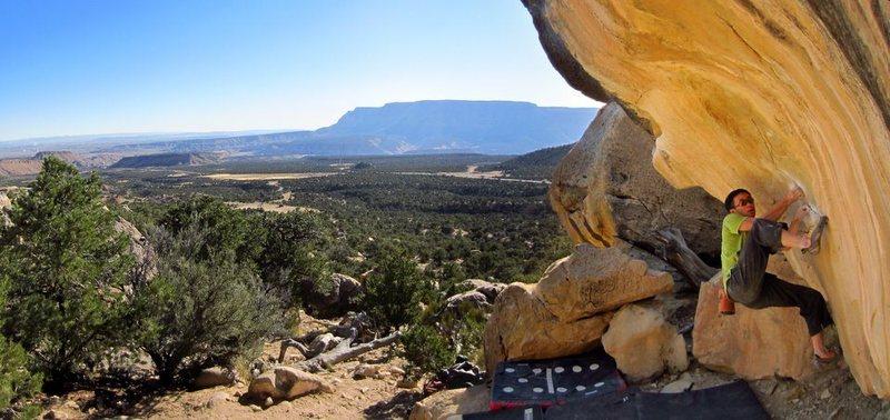 Rock Climbing Photo: I'd Rather Be Climbing Her.