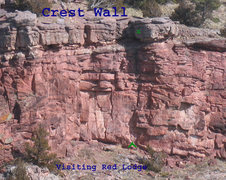 Rock Climbing Photo: Location Visiting Red Lodge