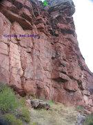 Rock Climbing Photo: Visiting Red Lodge