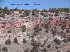 Rock Climbing Photo: Location of Turning on Divinity Street