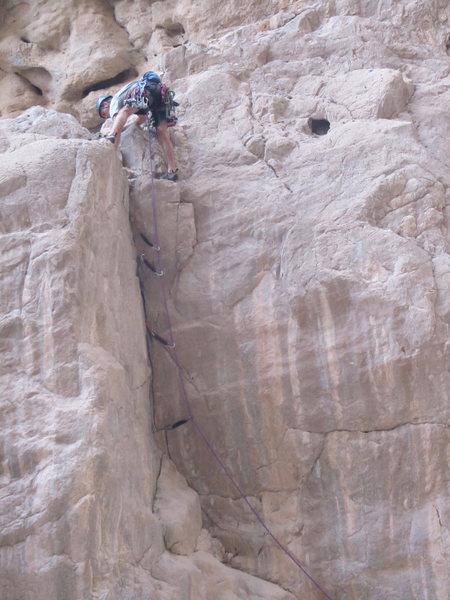 Rock Climbing Photo: Stephan's FA