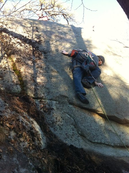 Rock Climbing Photo: Blind Faith.