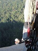 Rock Climbing Photo: Trav Strong. Skull Queen, Sept 2010