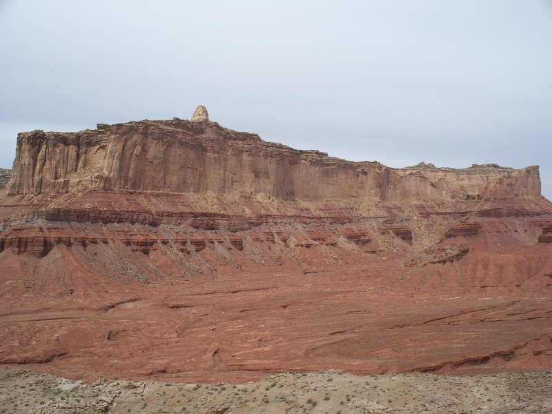 Top Hat Butte, from Miner's Toes