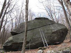 Rock Climbing Photo: Luminary (ladder is 13ft tall)