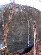 Rock Climbing Photo: Never Have I Ever (left of the 13ft ladder and in ...