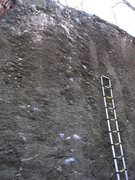 Rock Climbing Photo: Never Have I Ever (left of the 13ft ladder)
