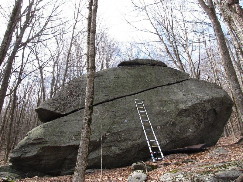 Rock Climbing Photo: Luminary. 13ft ladder.