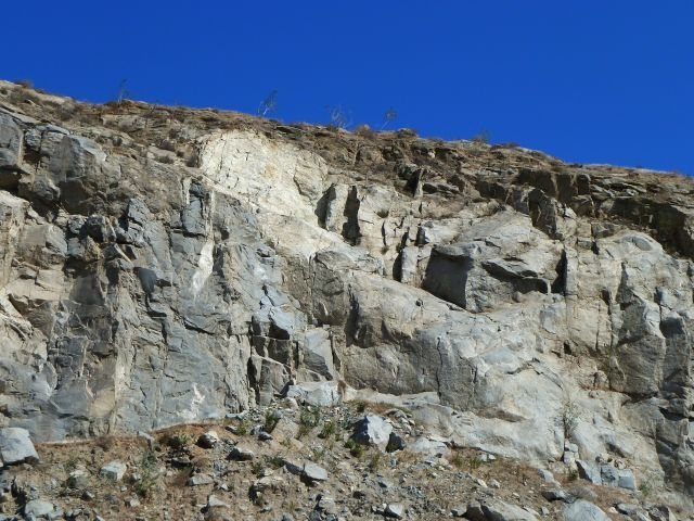 Rock Climbing Photo: Rubble Row, Riverside Quarry