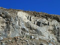 Rock Climbing Photo: Rubble Row, Riverside Quarry
